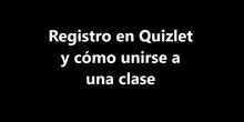 Registro en Quizlet y cómo unirse a una clase