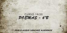POEMAS 6ºB - Curso 19/20