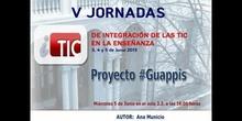 "Ponencia de Dª Ana Municio: ""Proyecto #Guappis"""