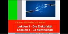1º ESO / Tema 3 -> Punto 1 - Carga eléctrica y corriente eléctrica