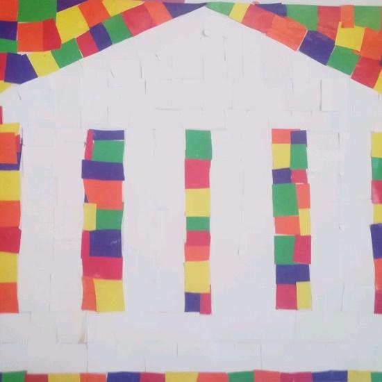 Mosaicos romanos - 3º primaria 8