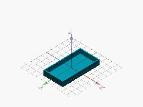 Caja para triángulos constructivos