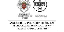 Análisis de la población de células microgliales retinianas en un modelo animal de sepsis