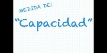 PRIMARIA - 3º - LA CAPACIDAD - MATEMÁTICAS - FORMACIÓN
