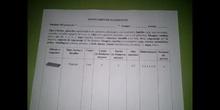 Inventario y vocabulario WeDo - Grupo 3