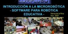 Seminario de Introducción a la Microrobótica - Software para la robótica Educativa
