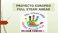 Proyecto Full STEAM ahead