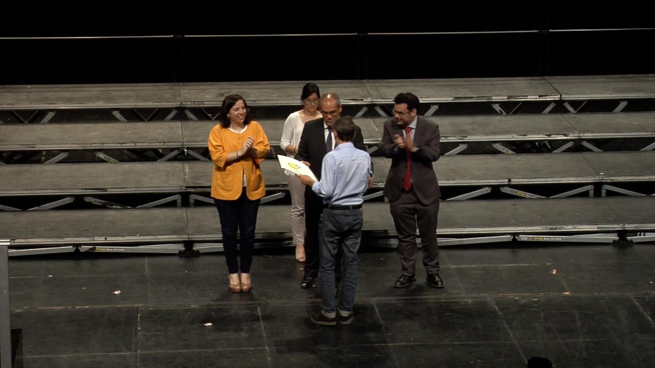 Acto de clausura del XIV Concurso de Coros Escolares de la Comunidad de Madrid (sesión de coros de excelencia) 1