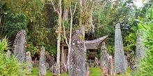 Zona religiosa animista, Sulawesi, Indonesia