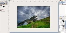 Eliminar elementos de una fotografía con GIMP