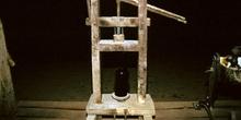 Lagar de sidra: Encorchadora, Museo del Pueblo de Asturias, Gijó