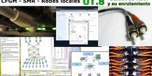 UT 8 - VLAN - 01 - Conocimientos previos (Subredes, Switch, Tráfico de difusión) con Packet Tracer