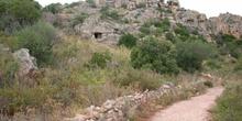 Sendero hacia una mina romana