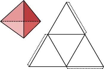El tetraedro y su desarrollo