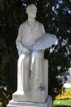 Escultura de Eduardo Rosales