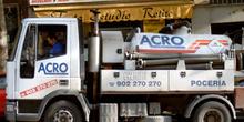 Camioneta para trabajos de pocería