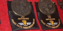 Medalla conmemorativa del 50 Aniversario del Primer Salto Paraca