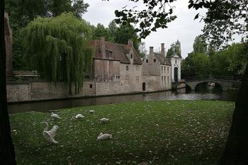 Beaterio Principesco de la Viña, Brujas, Bélgica