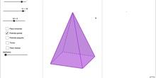 Área Total y Volumen de un Tronco de Pirámide Cuadrangular