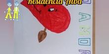 Dibujos para los abuelitos de la Residencia Alba