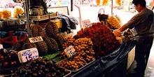 Puesto de frutas, Tailandia