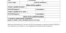 Solicitud de préstamo de libros para Segundo Ciclo de Ed Infantil_Programa ACCEDE_CEIP FDLR_Las Rozas