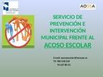 Formacion Acoso Escolar Ayto Las Rozas_2_CEIP FDLR_Las Rozas