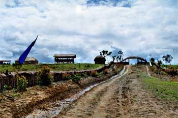 Camino de acceso a zona común/neutral de las tribus del Valle, I
