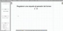 Ejemplo de análisis morfosintáctico de oraciones simples (2º ESO)