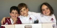 INFANTIL5 A- CUENTO LA CIGARRA Y LA HORMIGA - LUCAS CARLOS Y LUCÍA - ANIMACIÓN A LA LECTURA