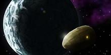 Alrededor de la Luna: Meteorito