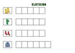 PLANTILLAS PARA SPELLING- Clothes