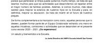 CARTA Y FICHA NUEVOS SOCIOS AMPA