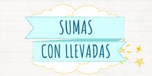 SUMAS CON LLEVADAS (Palillos)