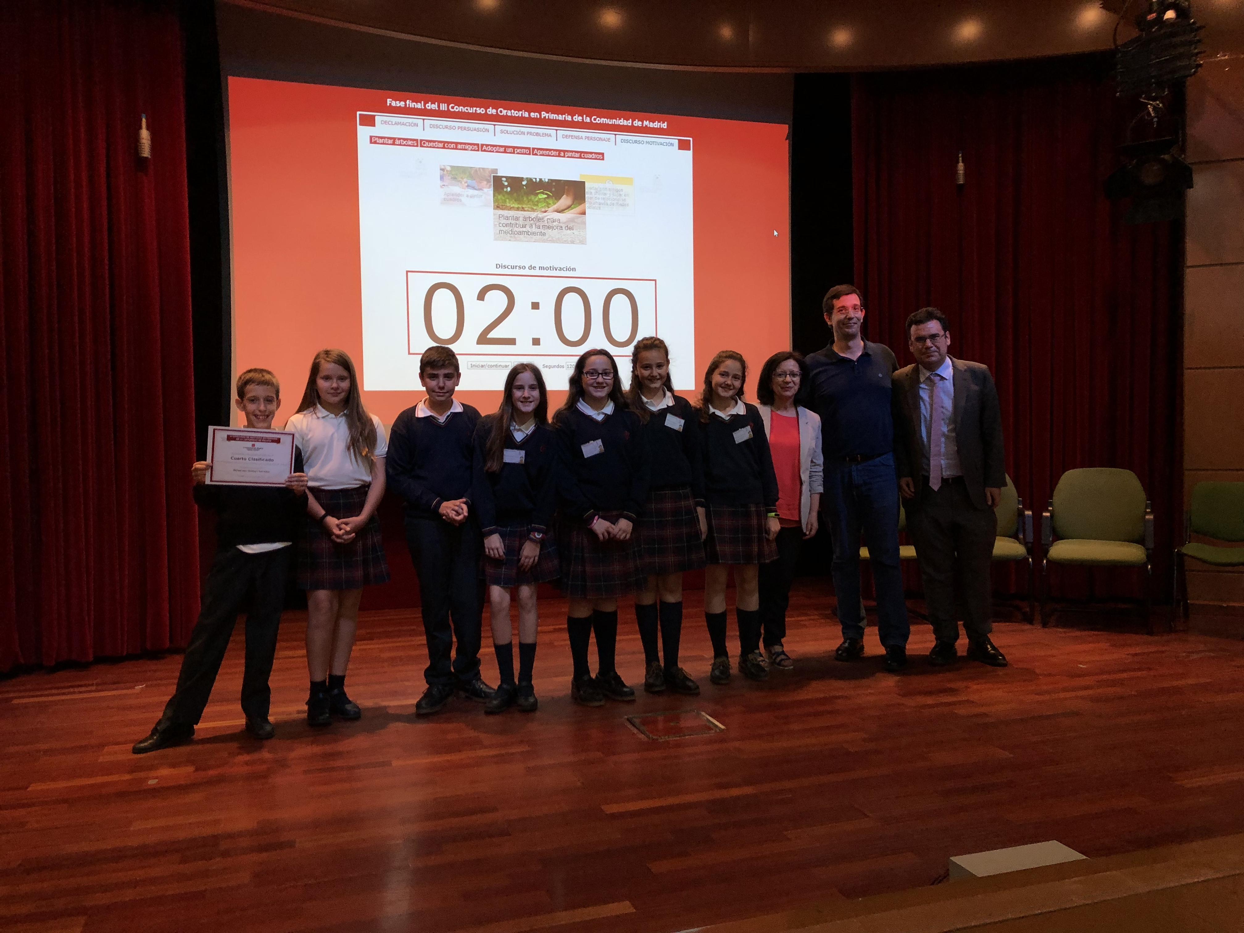 Fase final del III Concurso de Oratoria en Primaria de la Comunidad de Madrid 25