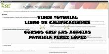 Videotutorial Libro de Calificaciones Crif Las Acacias Patricia Pérez López