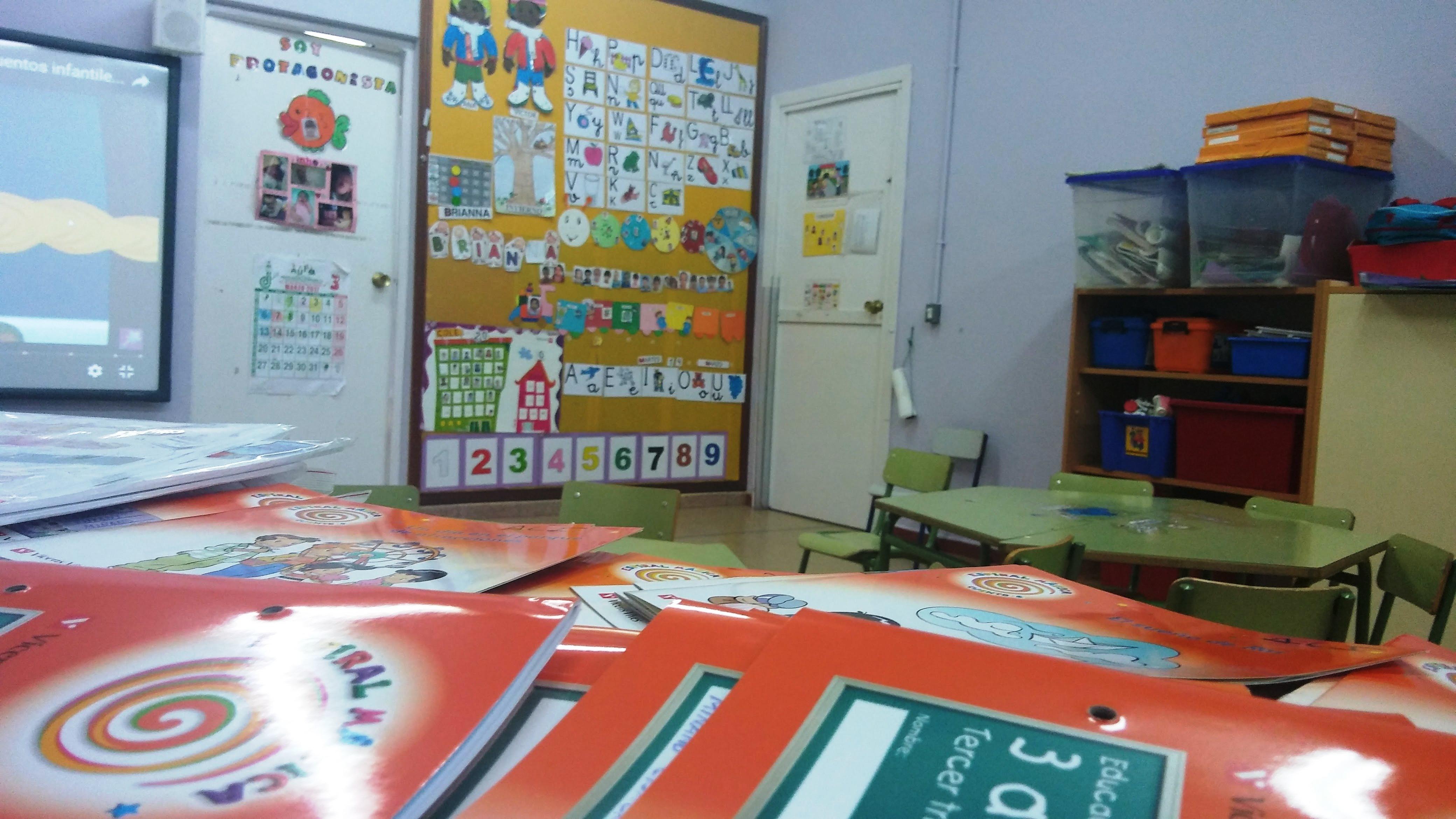Aulas de Infantil 14