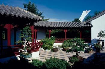 The Chinese Garden del Jardín Botánico de Montreal, Quebec, Cana