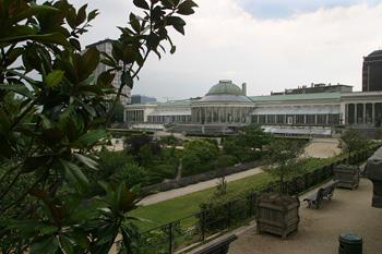 Jardín botánico, Bruselas, Bélgica