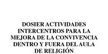 ACTIVIDAD INTERCENTRO RELIGION