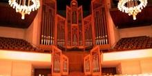 órgano en sala sinfónica