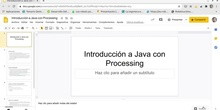 Vídeo 2. Introducción a Java con Processing
