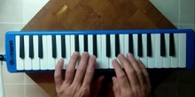 Improvisación con melódica - El blues de las notas negras