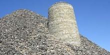 Techo de bombo típico de tierras de Castilla-La Mancha