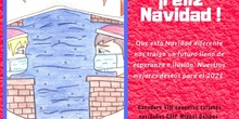 Tarjeta ganadora VIII concurso tarjetas navideñas