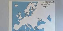 EUROPE: COASTLINE, ISLANDS AND PENINSULAS