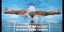 Sesión de natación