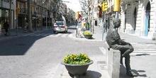Rambla de San Isidro, Igualada, Barcelona