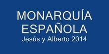 LOS REYES DE ESPAÑA. JESÚS Y ALBERTO
