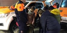 Quinto con los equipos de emergencias de las Rozas_CEIP FDLR_Las Rozas 3
